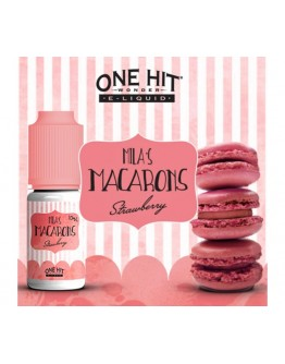 One Hit Wonder Milas Macarons Strawberry 10ml