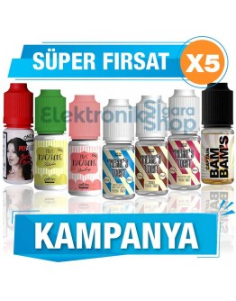 5 Adet One Hit Wonder 10ML Likit Kampanyası