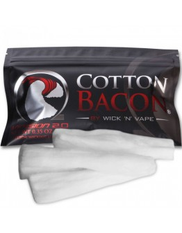 Wick 'N' Vape Cotton Bacon Organik Pamuk